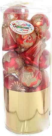 Купить Серпантин D06-273 Красный золотой