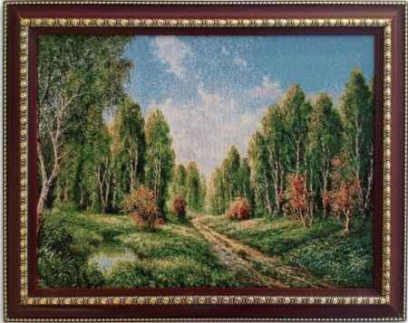 Купить Картина гобелен Лесная полянка кгб-2008-рдт