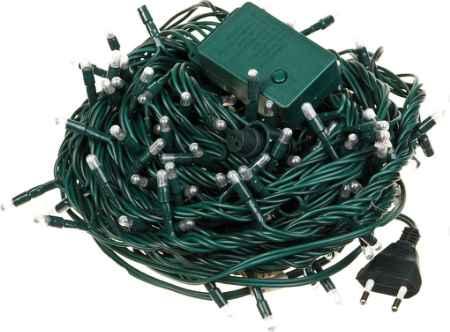 Купить Серпантин LED 200 15м 8 Режимов Зелёных