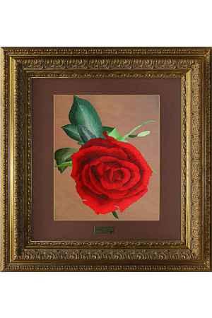 Купить Живой шелк Роза