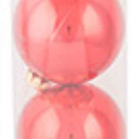Купить Morozco Набор шаров Новогодний глянцевый красный D75мм 4шт ТН75104