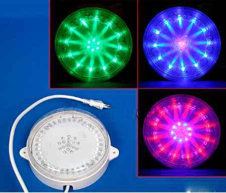 Купить Серпантин LED 700-4 RGB лампа круглая