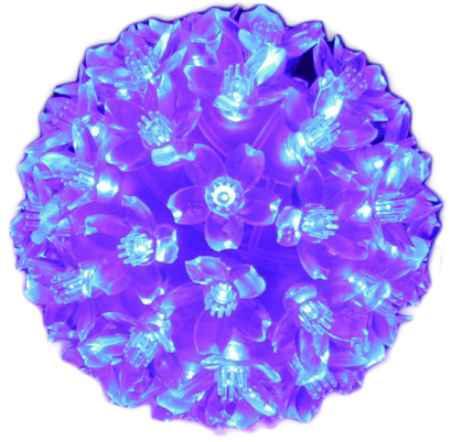 Купить Серпантин LED 50 Шар Синий 183-410