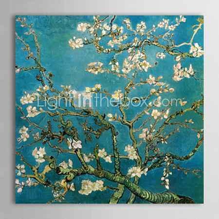 Купить холст картины маслом миндаля филиалы в цвету Сан remyc.1890 Винсента Ван Гога ручная роспись готовы повесить