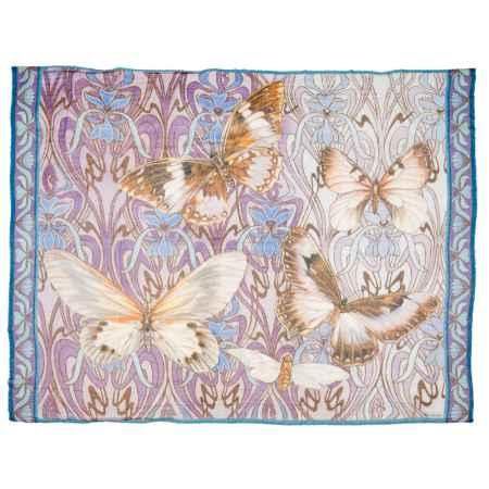 Купить Gourji Шаль «Бабочки», 140х180, кашемир