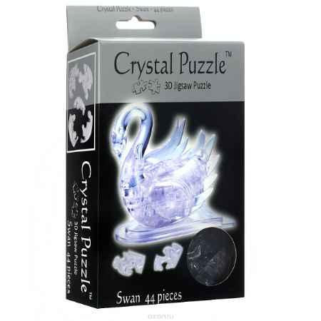 Купить Crystal Puzzle Лебедь, цвет: прозрачный. Объемный 3D-пазл, 44 элемента