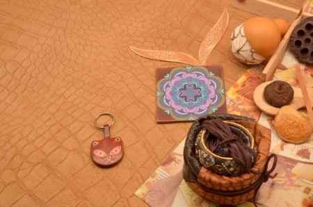 Купить Брелок для ключей. Коллекция Socotra (Коричневый; кожа)