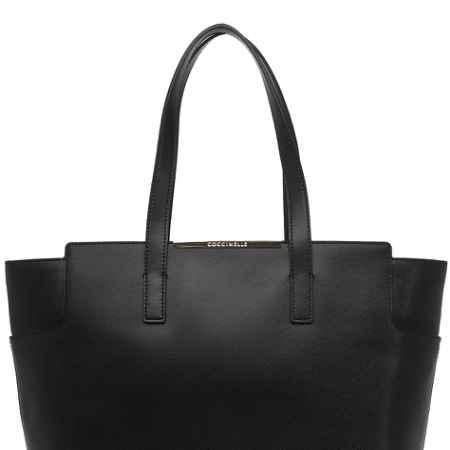 Купить Coccinelle Горизонтальная сумка с двумя ручками чнрная