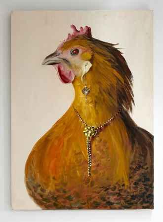 "Купить Картина ""Курица"""