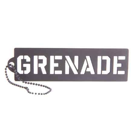 Купить Брелок Grenade Key Chain Stencil Black