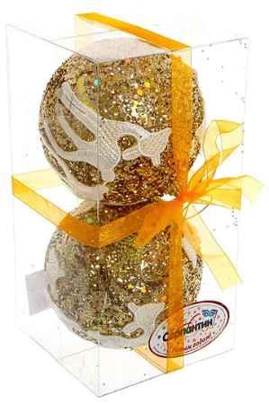 Купить Серпантин Кружево золото Оленята A100384G10
