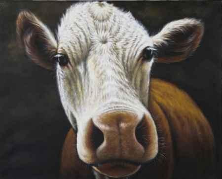 """Купить Картина """"Cow"""""""