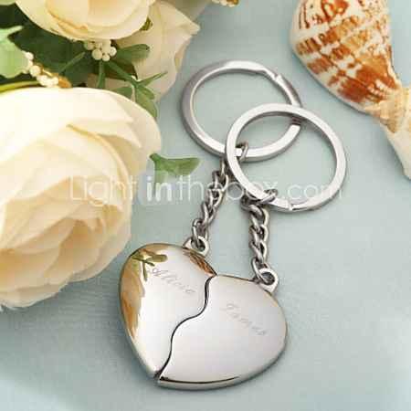 Купить персонализированных раскол сердце ключей (комплект из 4 пар)