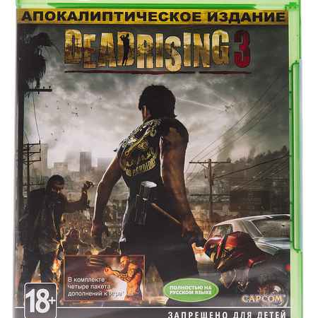 Купить Microsoft Игра Dead Rising 3 Apocalypsis Edition для Xbox One