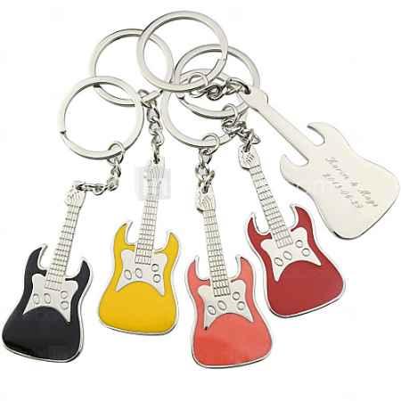 Купить Персонализированные Брелок Гитара - Набор из 6 (другие цвета)