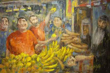 """Купить Картина """"Рынок в Иерусалиме"""""""