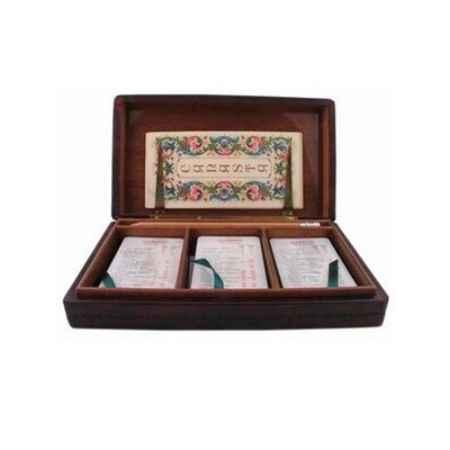 Купить Florentia Шкатулка 23х13х4,5 см с 3-мя колодами карт Florentia DA05000015
