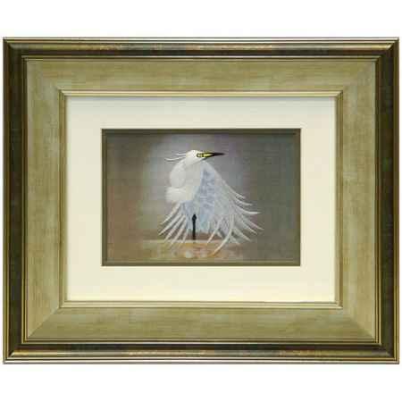 Купить Живой шелк Белая птица Живой шелк 011012М129 МУЛЬТИКОЛОР
