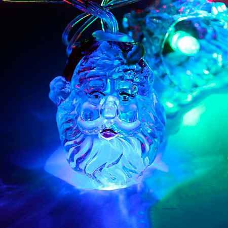 Купить Серпантин LED Н 28 Дед Мороз в колпаке 4м