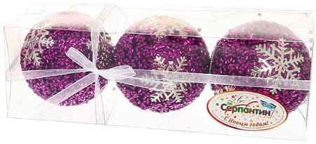 Купить Серпантин LI-680029PUTS8 Снежинка розовая