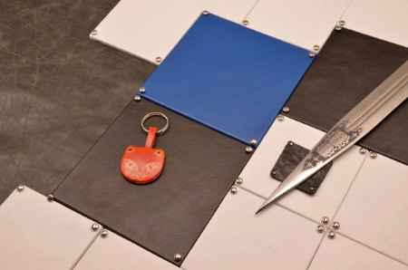 Купить Брелок для ключей. Коллекция Socotra (Оранжевый; кожа)