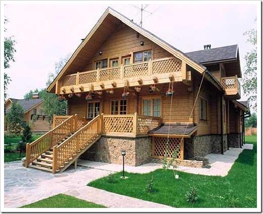 Возведение деревянных домов в пожароопасных областях России