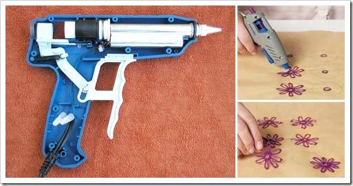 Почему клеевой пистолет должен быть в каждом доме?