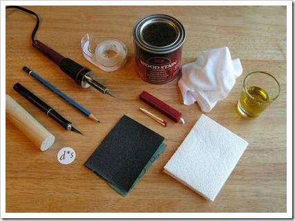 Изготовление штампа при помощи фольги