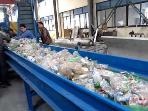 Линия переработки ПЭТ бутылок