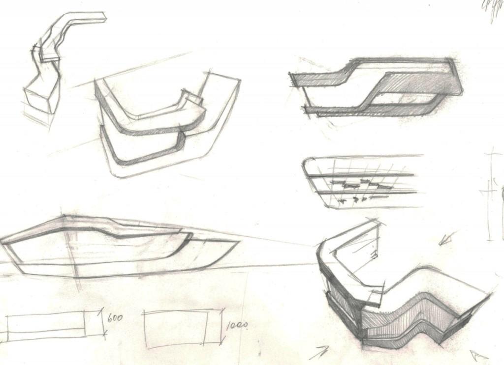 Как нарисовать эскиз мебели