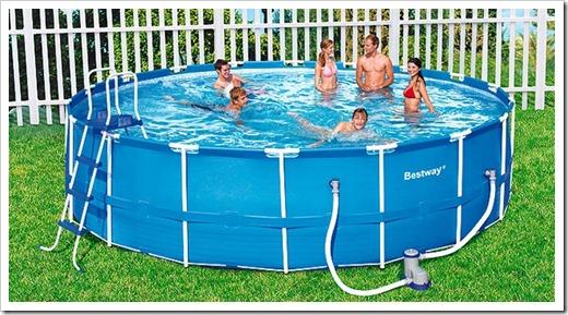 Положительные стороны использования сборных бассейнов