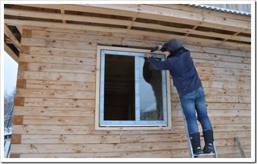 Подготовительный этап перед монтажом окон в деревянном доме