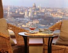 панорамный вид ресторан