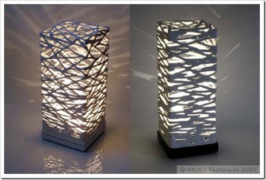 Всё, что потребуется для самостоятельного создания светильника