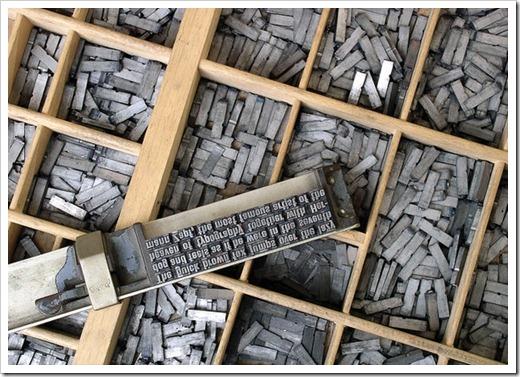 Какое оборудование должно быть в частой типографии?