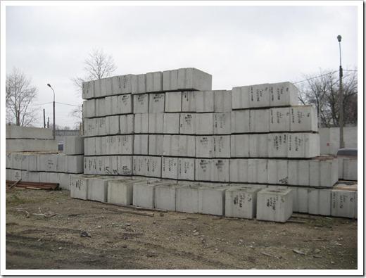 Расчёт количества фундаментных блоков