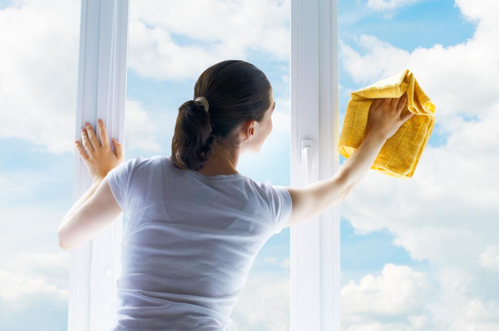 Как помыть пластиковые окна