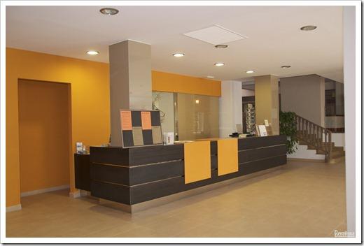 Оформление холла отеля
