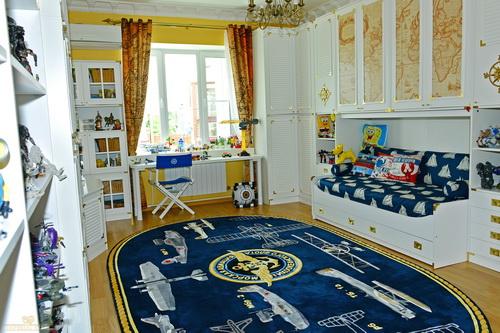 Синтетические ковры в комнату для ребенка