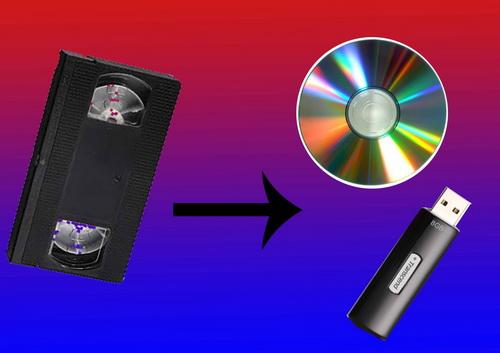 Как оцифровывают видеокассеты