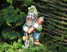 Как сделать скульптуру для сада