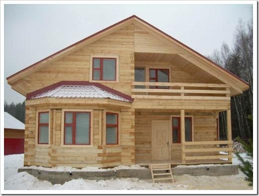Профессиональное строительство домов из бруса