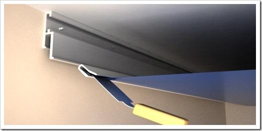 Почему устанавливать натяжной потолок следует вначале?
