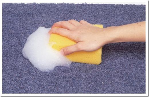 Способы очистки ковра