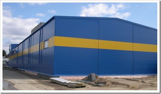 Быстровозводимые здания из сэндвич-панелей в Нижнем Новгороде