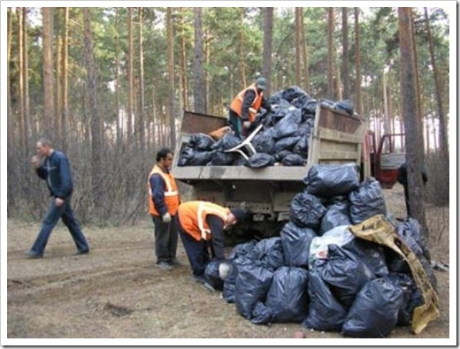 Требования в отношении складирования бытовых отходов