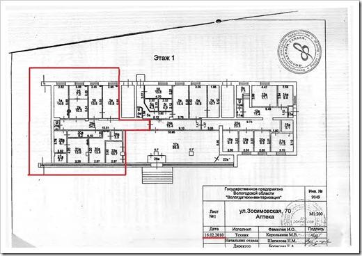 Подача необходимых документов в Кадастровую палату