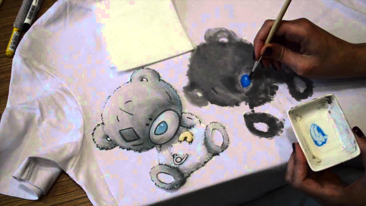 Как перевести фото на футболку в домашних условиях