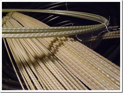 Способы вязки арматуры и стеклопластиковые варианты армирования