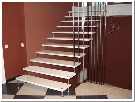 Различные типы лестниц
